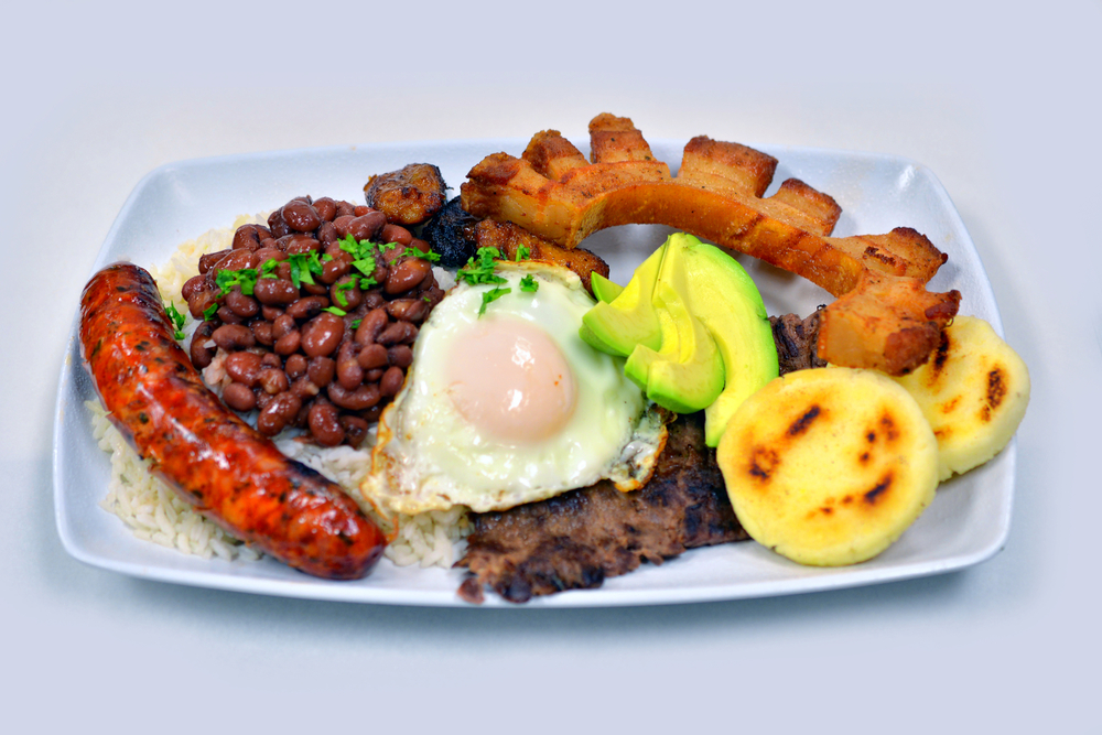 Bandeja paisa. Popular dish and hangover cure.
