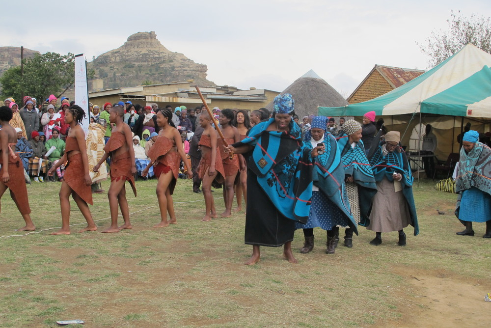 Cultural dancing performed by women from all over the country