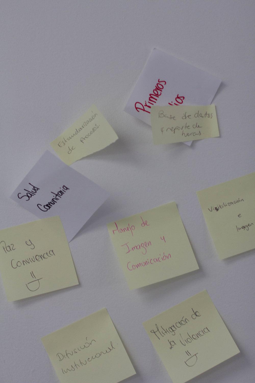 Dar algo positivo a los otros grupos como retroalimentación a la actividad