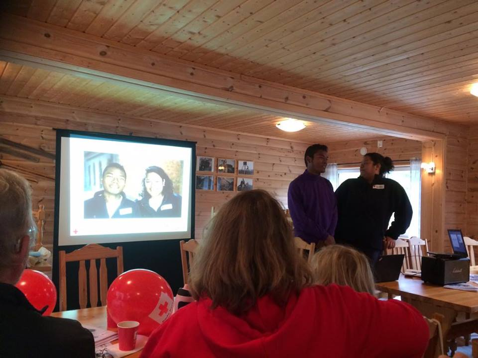 Our presentation during the meeting with the Leaders in Nord Trøndelag