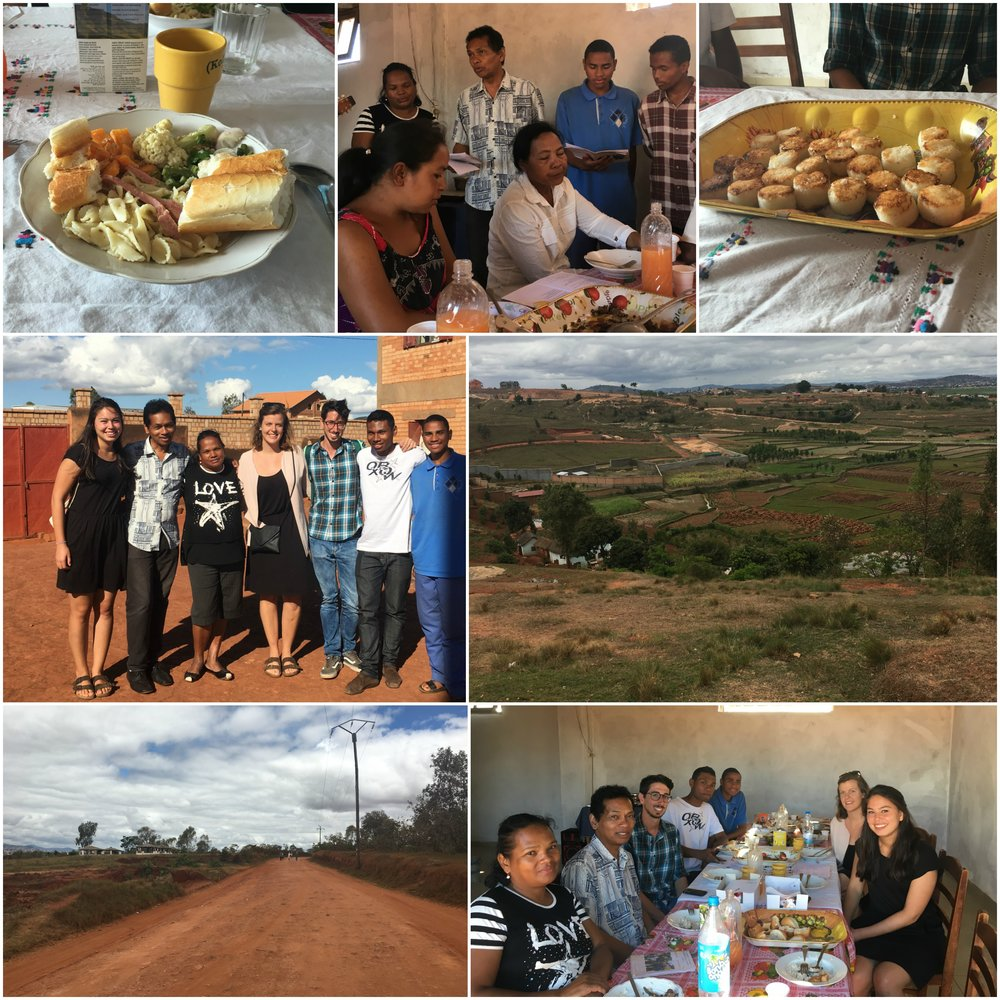 For many people in Madagascar, Sundays are spent together with family and we were lucky to be invited to a friend's family lunch where we were welcomed with a lovely Malagasy song.