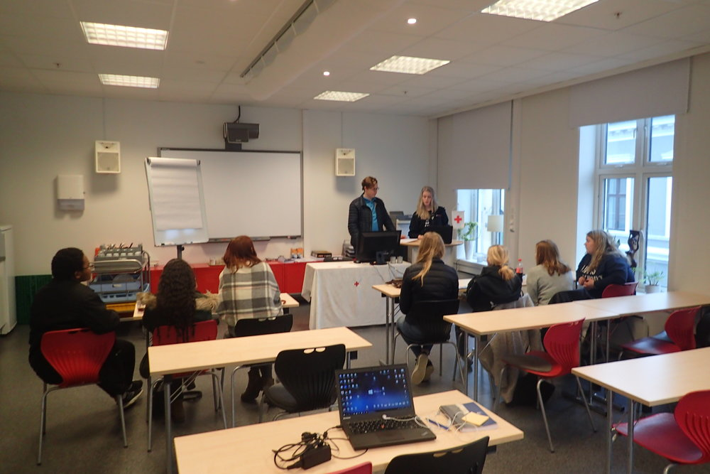 Cooperation Meeting of District Youth Board Telemark with Vastfold Redcross