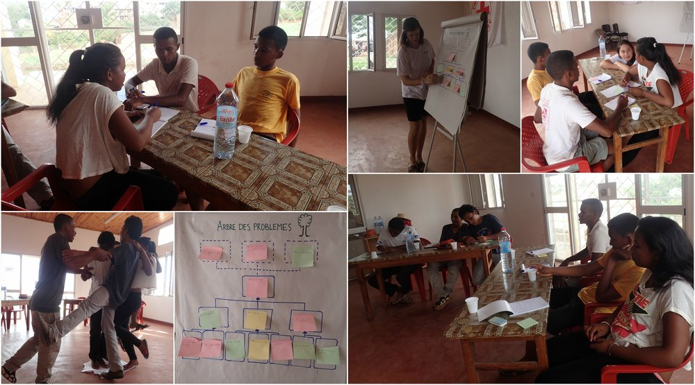 Planning workshop held by Maria and Kristina, 26.11.2016.