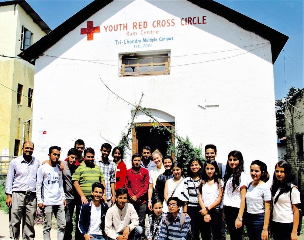 Photo of Tri-Chandra Red Cross Youth Circle at Tri-Chandra Mulitple Campus.