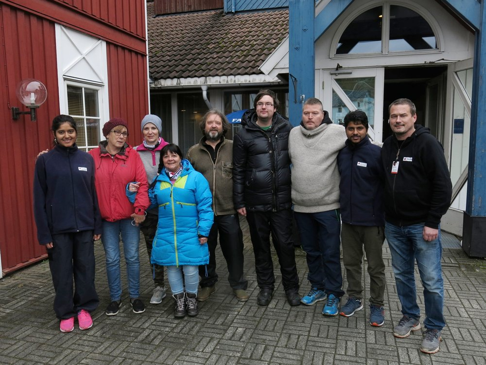 -          Volunteers of Ferie for alle in Meråker.