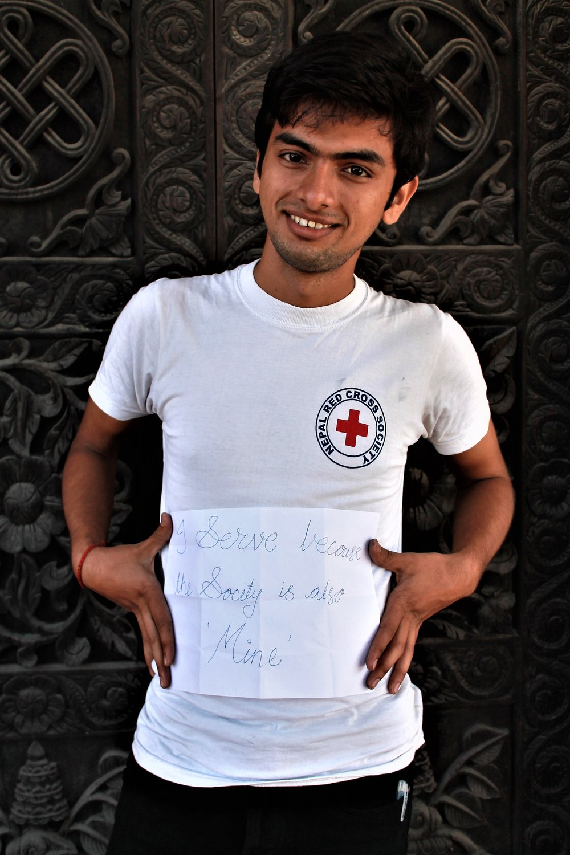Bishal Bhattarai. Photo taken by Camilla Rodø
