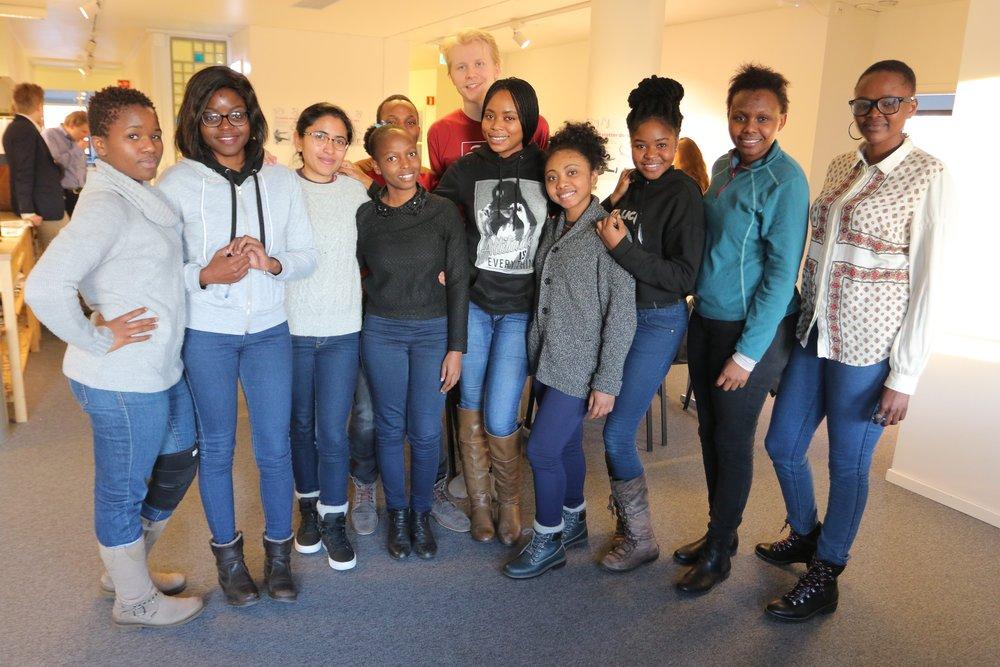 Diversity and inclusion workshop participants, LNU 2018