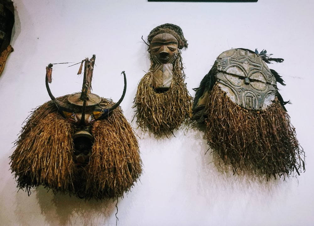 The National Archive in Nairobi has a good collection of African masks.