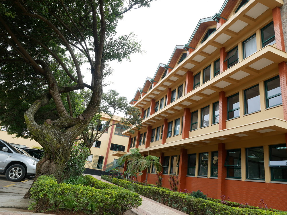 Kenya Red Cross Society headquarter in Nairobi. Photo: Ingrid Legrand Gjerdset