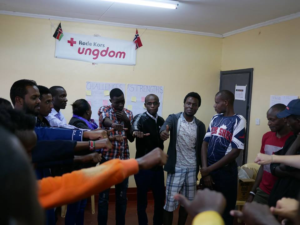Summing up the day at the workshop in Nanyuki. Photo: OTC-Photography