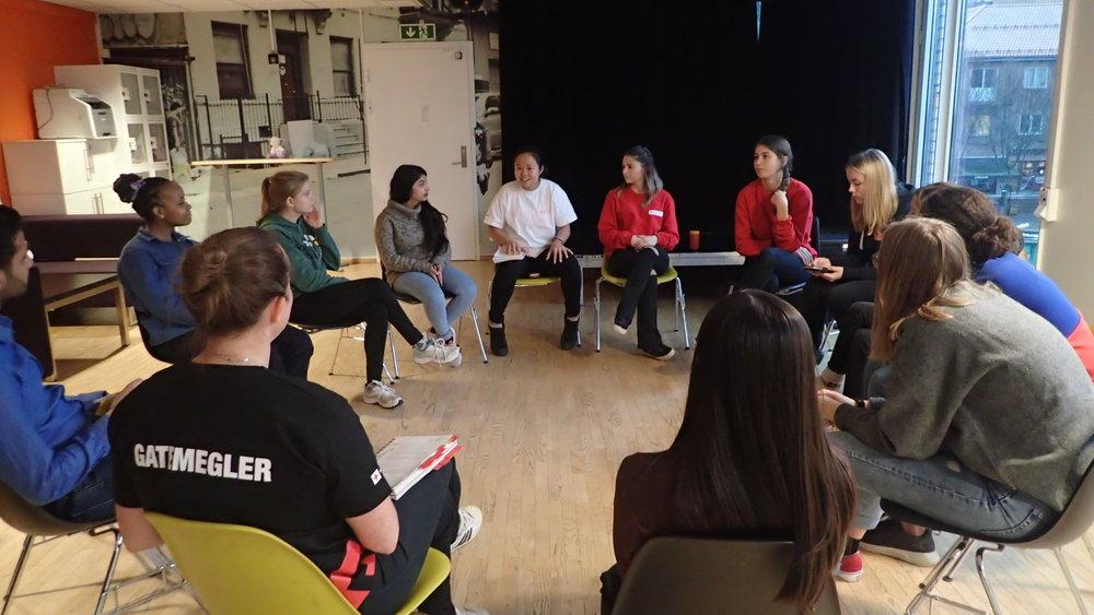 Street mediation training in Asker