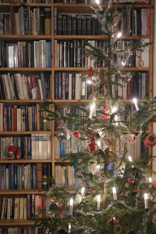 The Thrane Bemelmans family's Christmas tree. Photo: Elfi Thrane Bemelmans.