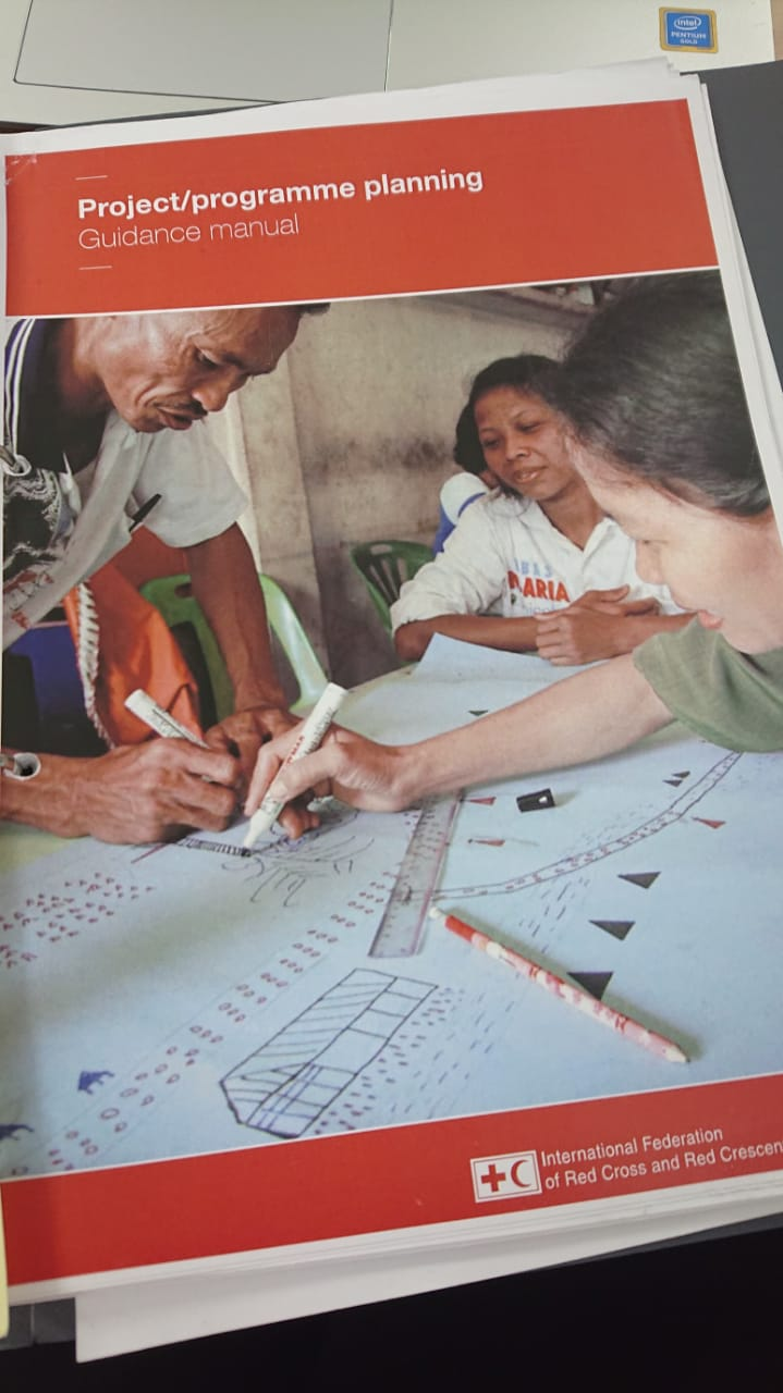 In this manual from IFRC can you find all you need to know about planning a project. We are using it a lot!