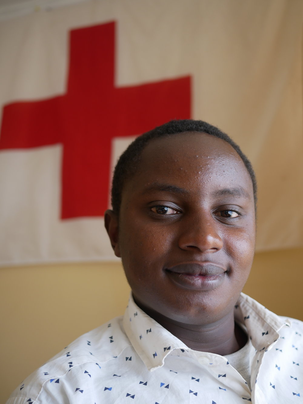 Alex - Alex is a volunteer in Nyahururu in Laikipia west. He studies community development, and is looking forward to promoting youth participation within Red Cross in Laikipia and within KRCS.- Being in the YDEP team is a good opportunity to increase my leadership skills.