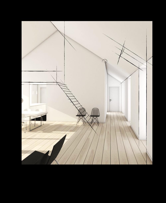 oneroom arkitekttegnet koncept