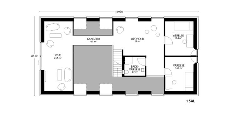 oneroom compact 240 m2 loft