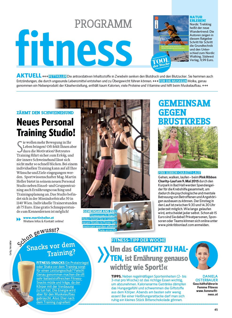 Gesund und Fit April 2015
