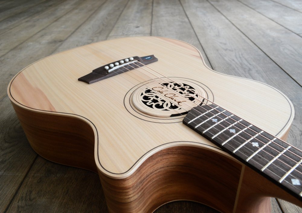 Cole Clark Maple Sound Hole Cover in AN2EC-BB