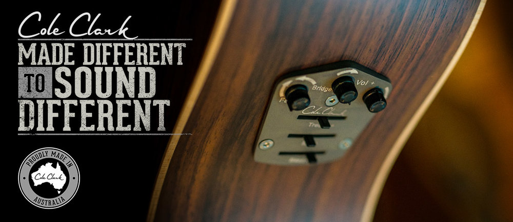 The patented Cole Clark pickup for the most natural amplified sound there is!