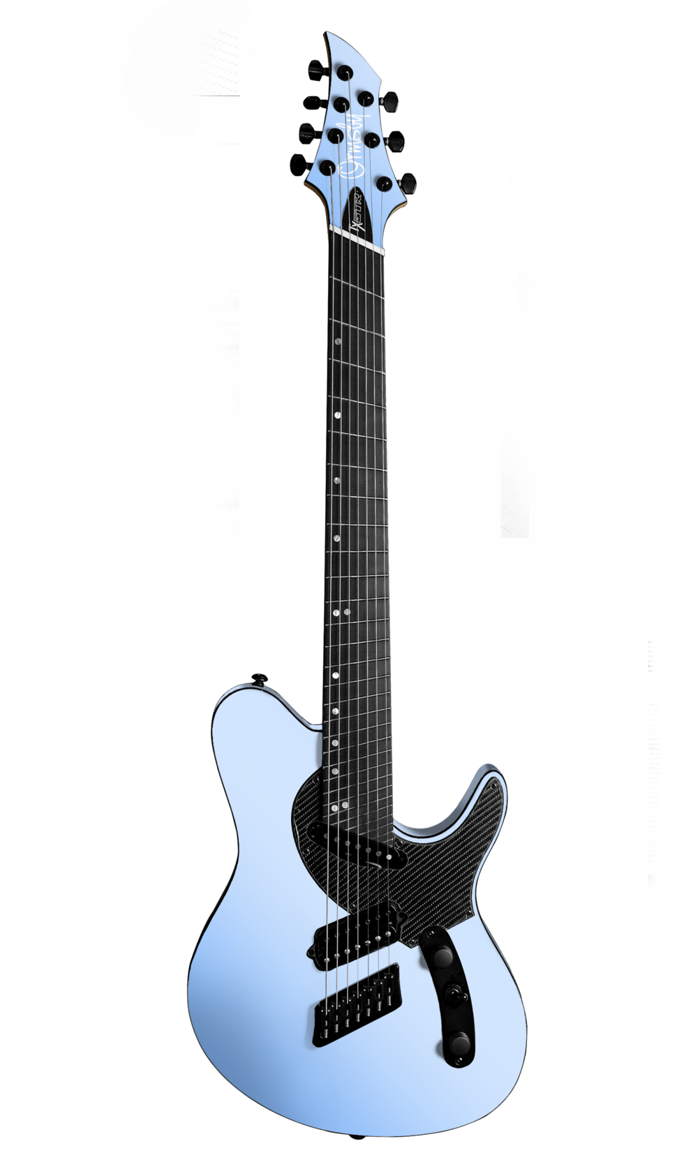 TX GTR Carbon MULTISCALE - Azzurro California (6, 7 & 8 String)