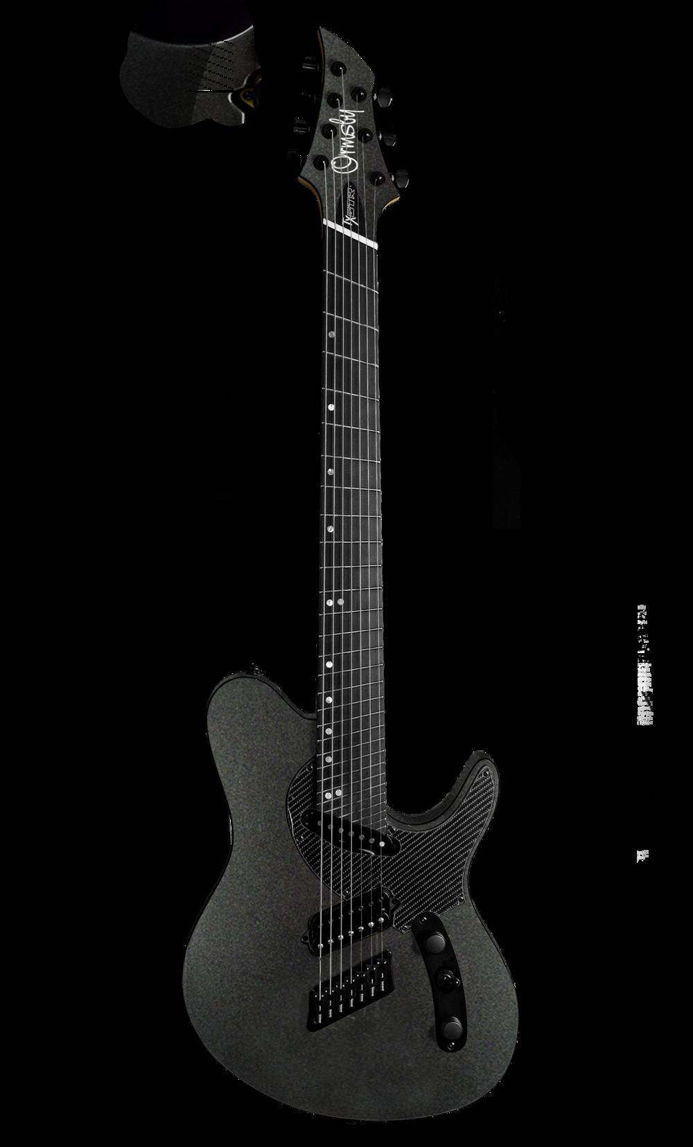 TX GTR Carbon MULTISCALE - Gunmetal (6, 7 & 8 String)