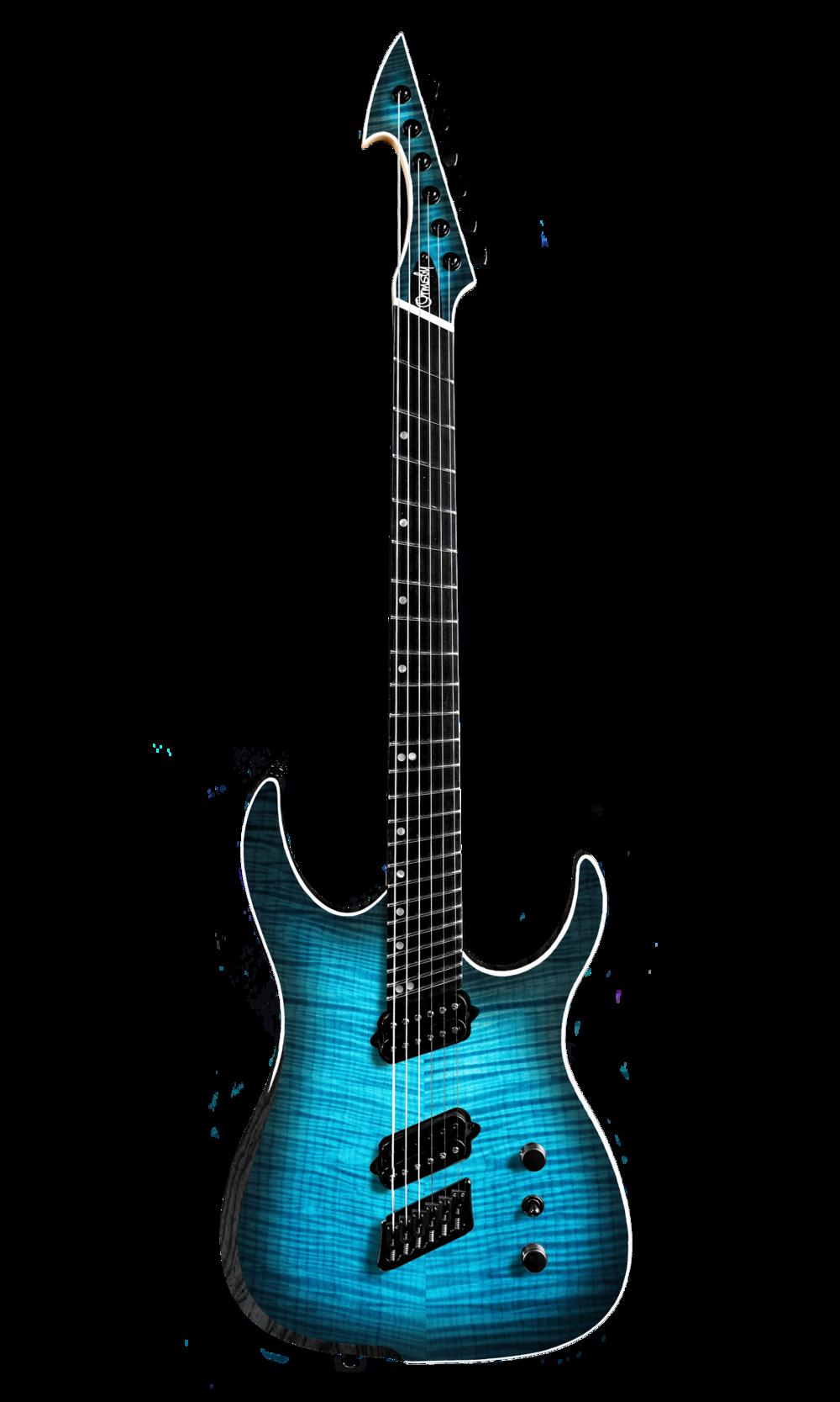 Hype GTR MULTISCALE - Beto Blue (6, 7 & 8 String)