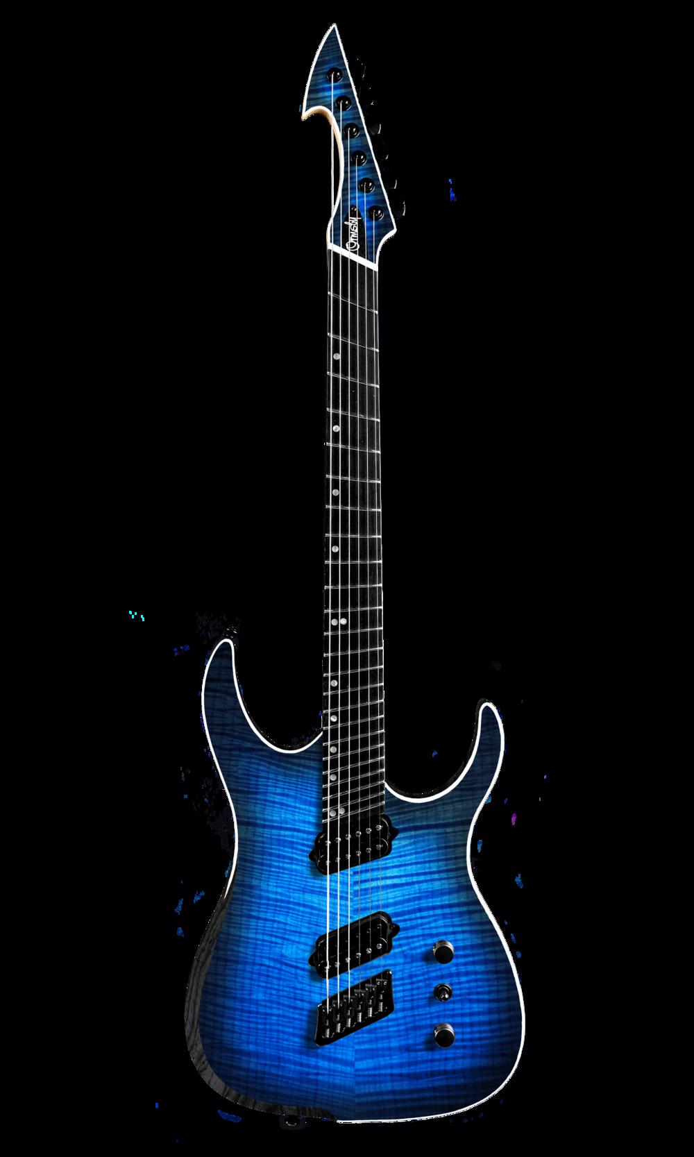 Hype GTR MULTISCALE - Sophia Blue (6, 7 & 8 String)