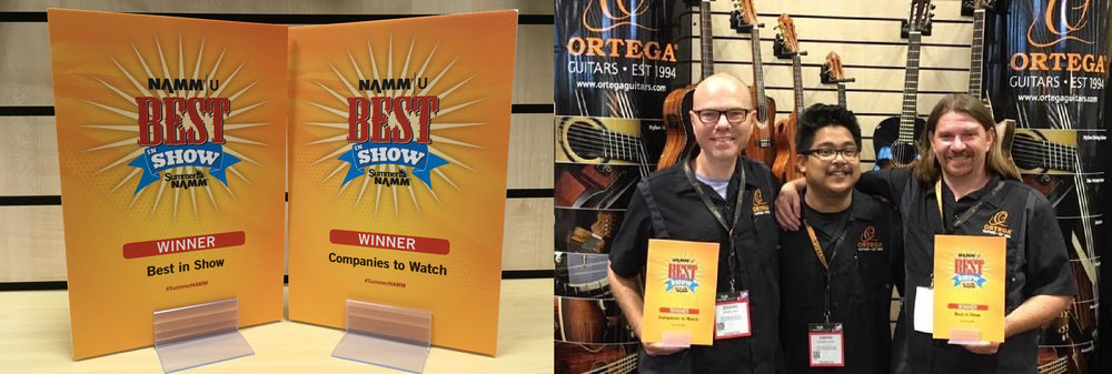 "Jeremy Page and his team -   received   the ""  Best   in Show"" and the ""Companies to watch"" awards at Summer NAMM 2017"