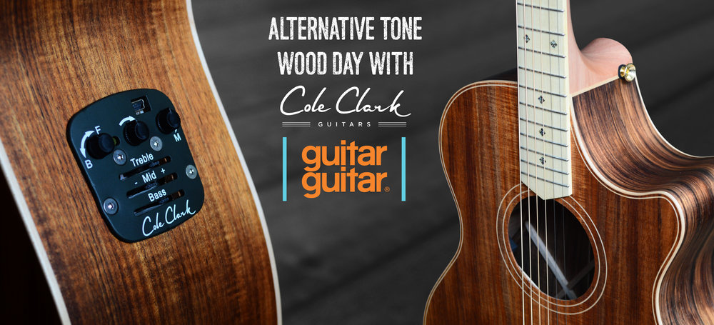 ZMD Cole Clark Tonewood Day at Guitarguitar Epsom Saturday 26th August