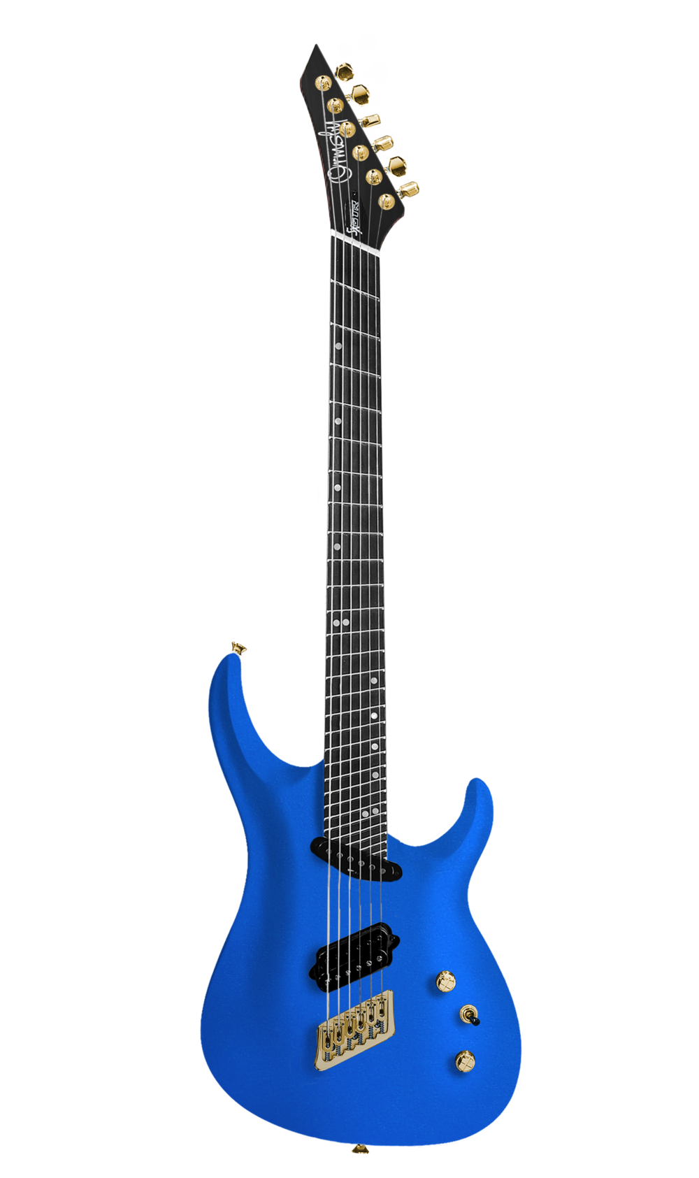 Forget-Me-Not Blue Metallic SX Carved Top