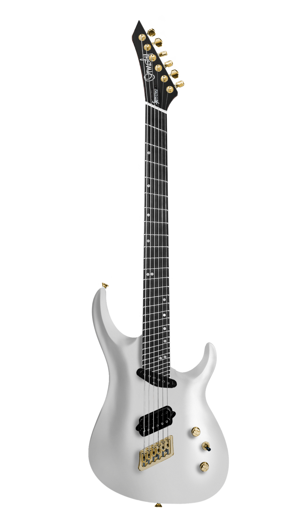 Platinum Pearl White Gloss SX Carved Top