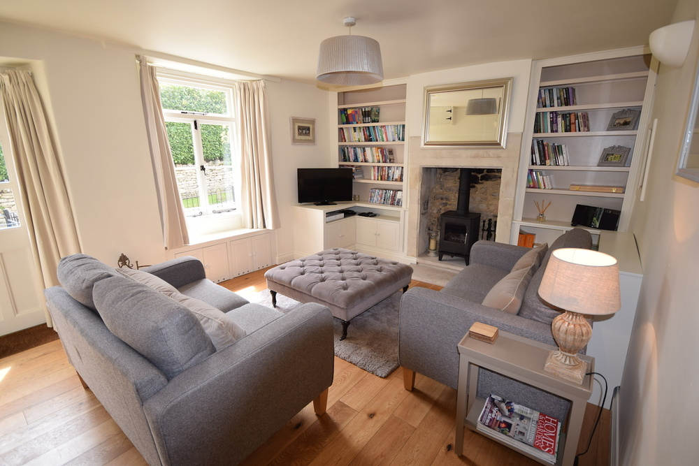 Bath holiday cottage sitting room, White Hart Cottage.JPG