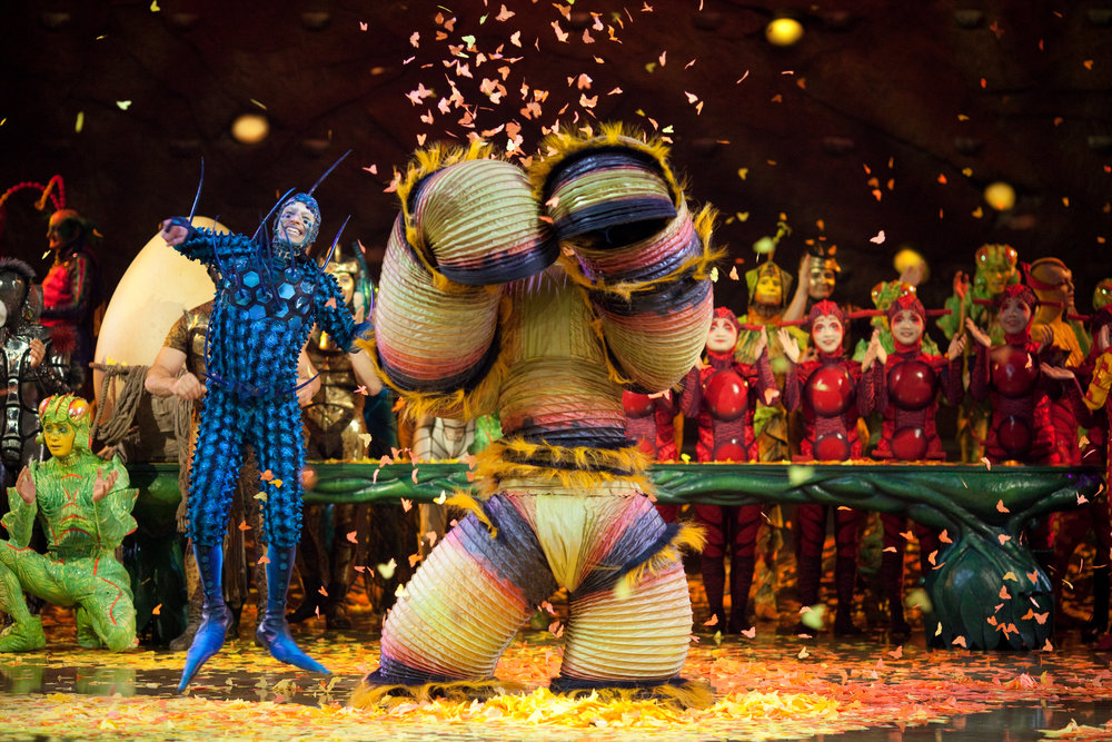 Photo: OSA Images Costumes: Liz Vandal © 2009 Cirque du Soleil
