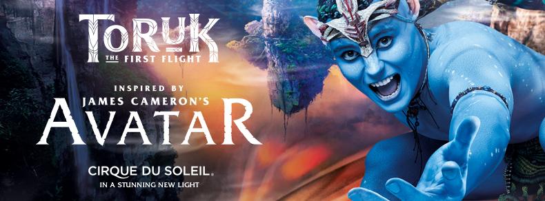 Toruk Cirque du Soleil 12.06-15.06.2019