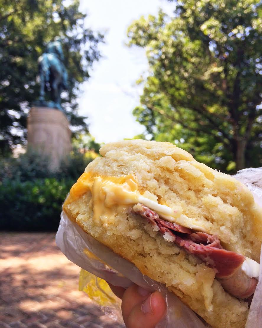 The K&K breakfast biscuit - so sinfully good.