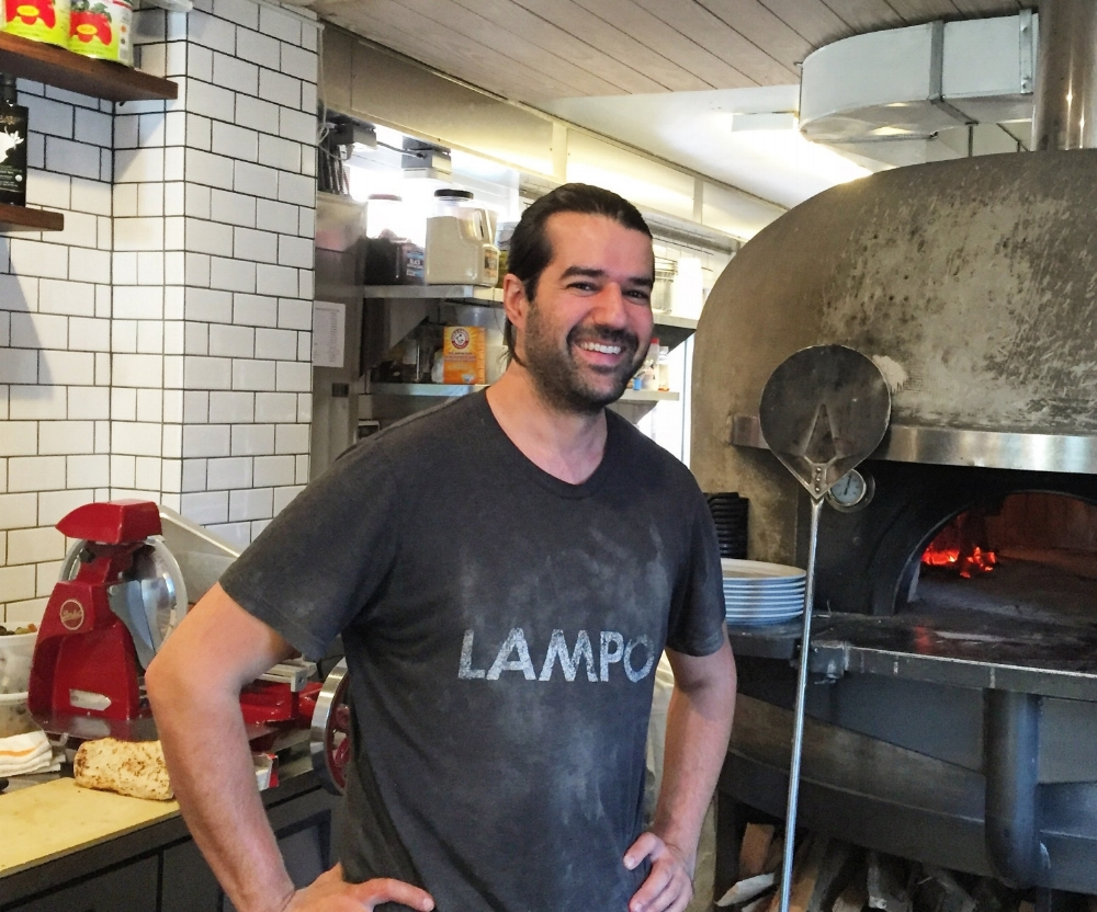 Loren Mendosa, co-owner of Lampo