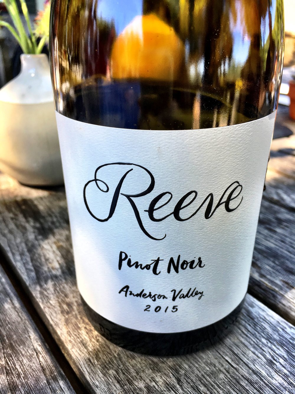2015 Pinot Noir at Reeve Wines