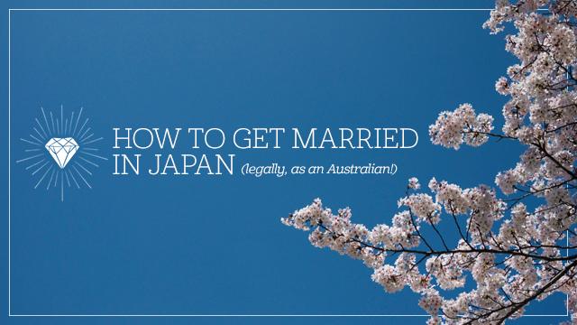 Getting Married in Japan (as an Australian Foreigner!) — Kitty & Buck