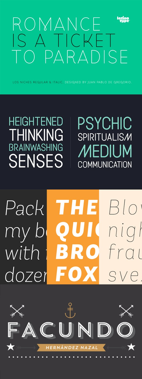 Display and Sans Serif Fonts - Perfect for your next web or print project! | Favorite Fonts on Kitty & Buck
