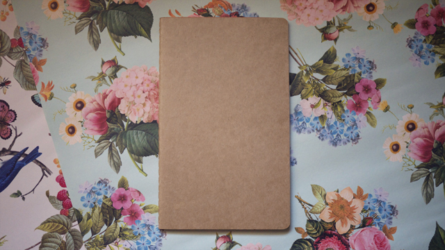 DIY Japanese Paper Book Cover | Kitty & Buck