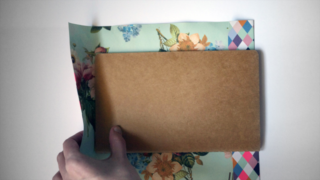 Japanese Paper Book Cover : Diy japanese paper book cover — kitty buck