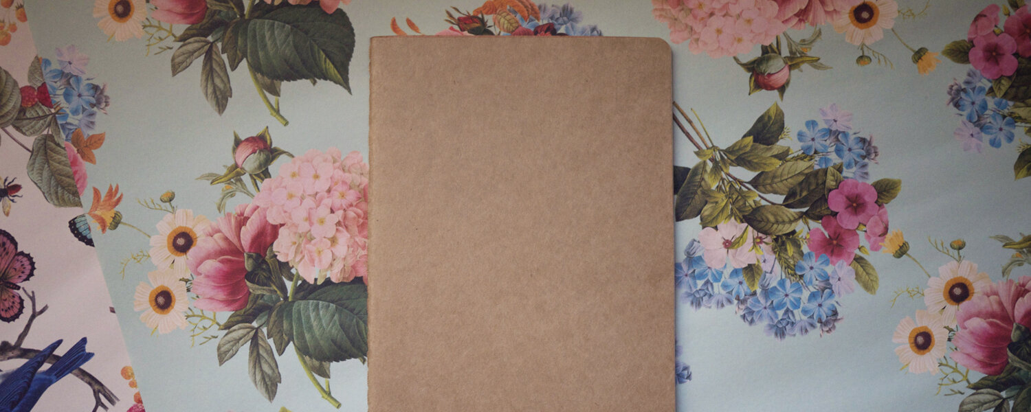 How to Make a Book Cover from Paper ⋆ Dream a Little Bigger | 600x1500