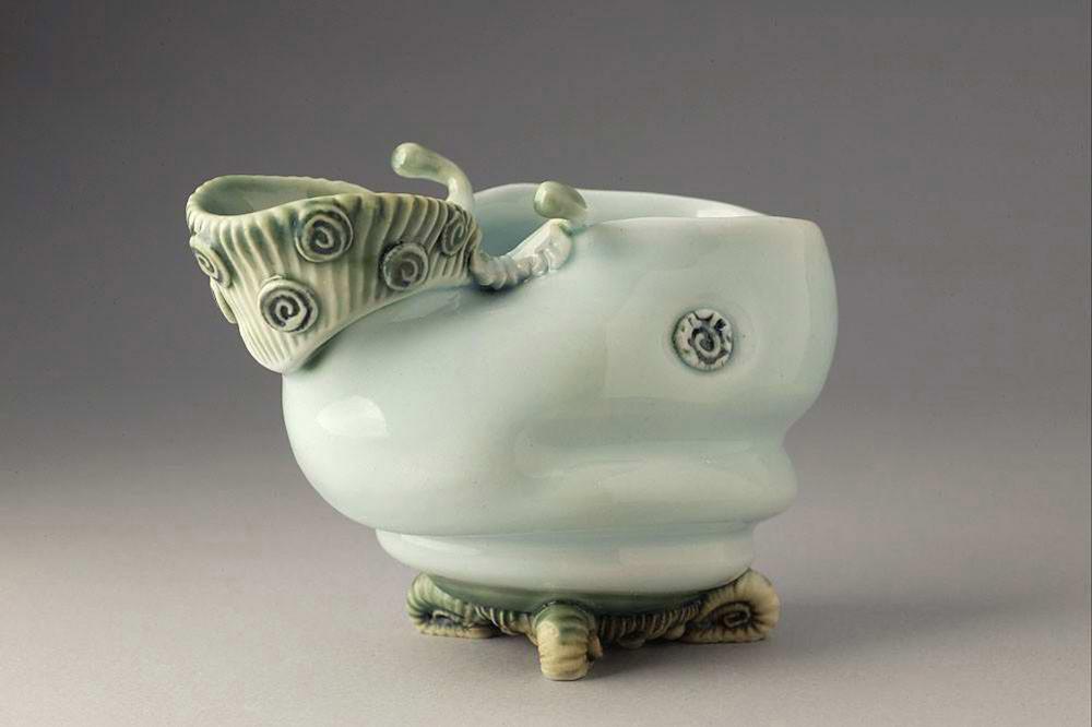 'Harry Bunny Bowl' porcelain 2014 Fleur Schell.jpg