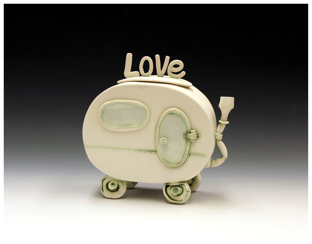 'Caravan of Love' lidded jar Fleur Schell 2014.jpg