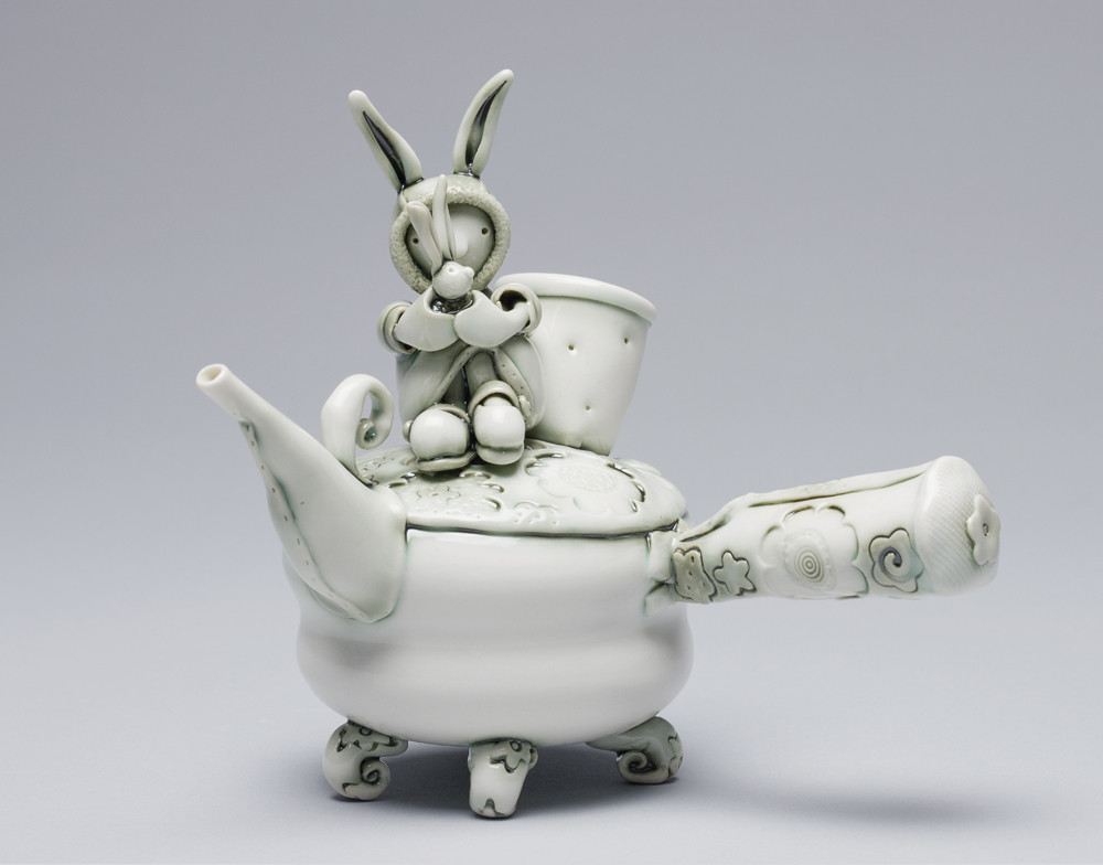 Heidi and the Rabbit Teapot