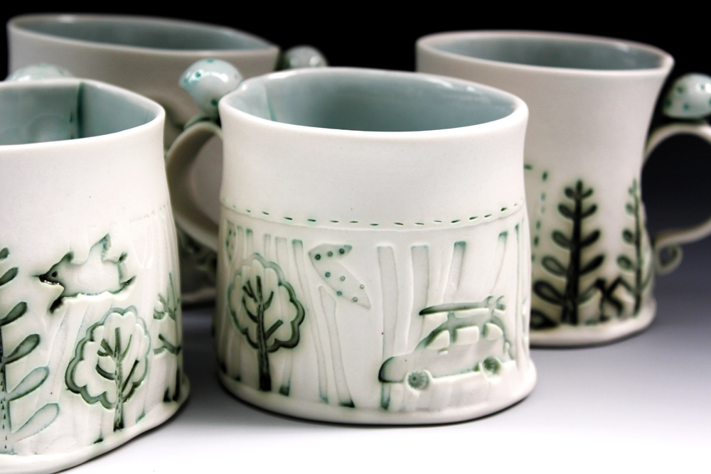 Porcelain cups 2016 set of 4  Fleur Schell detail 1.jpg low res.jpg