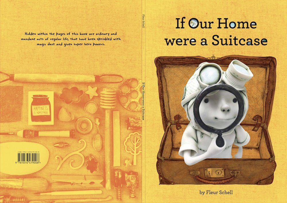 If our house were a suitcase book cover