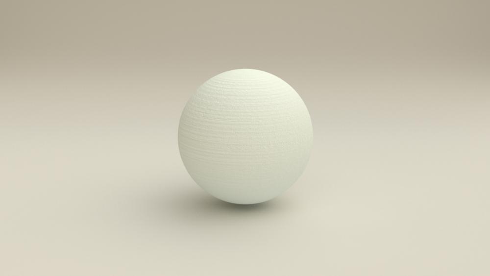 3D Print Simulator: Sphere