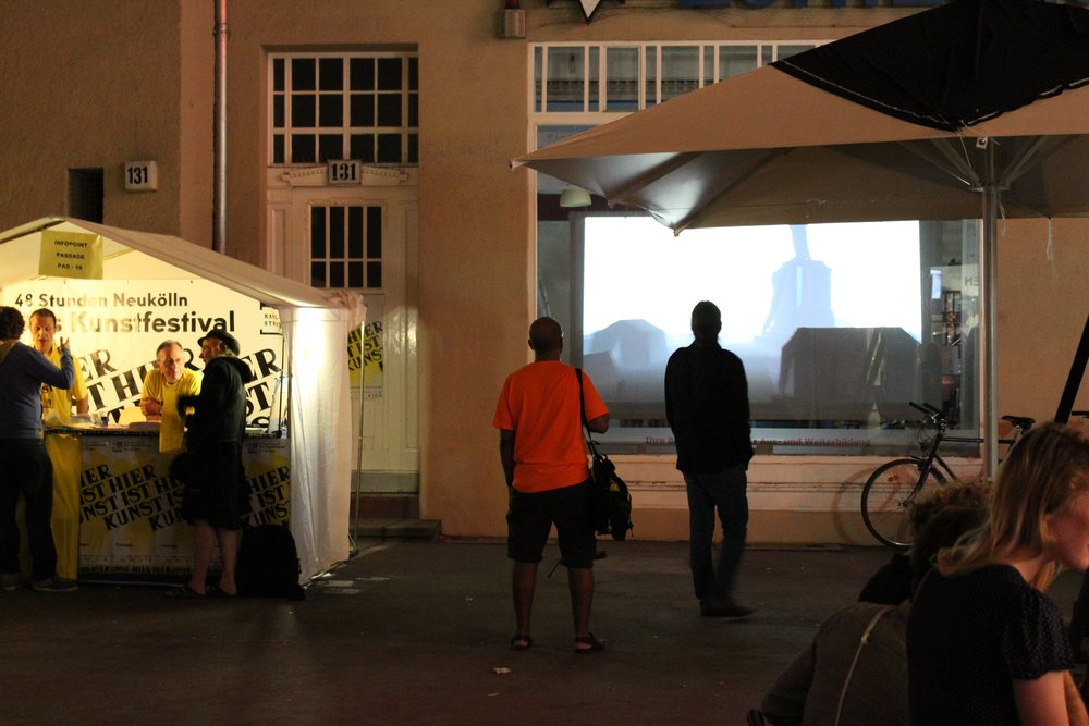 De_Constructing Space, Passage Kino, 48Stunden Festival, Berlin, 2014.