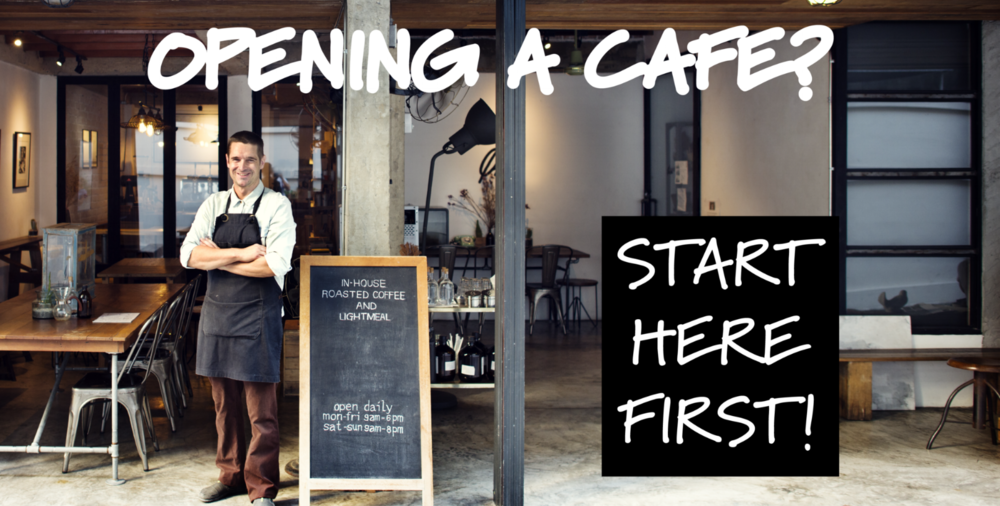 Open a cafe